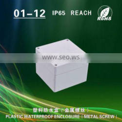Outdoor waterproof plastic junction box for monitoring power supply
