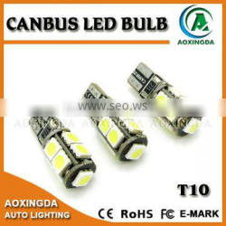W5W 168 194 T10 CANBUS LED bulb 5050 9SMD