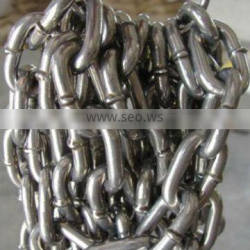 Galvanized welded DIN5865C long link chain