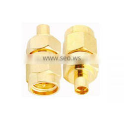 RF Coaxial Adapter SMA male to MMCX female