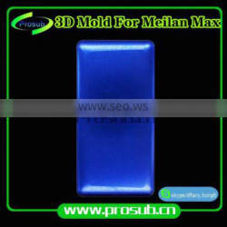 3Dsublimation smartphone cover aluminum injection mould for Prosub-Meilan MAX