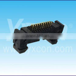 Made in China 1.27mm pitch dual row ROHS certificate straight Ejector header connector