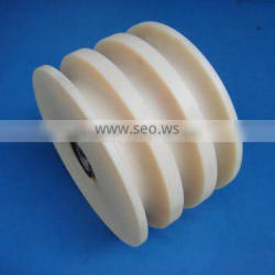 Manufacture ODM&OEM customized machined part plastic nylon pulleys