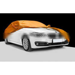 Orange 190T polyester car covers
