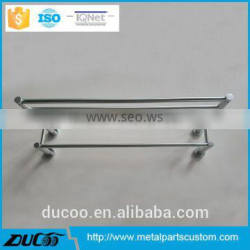 China stainless steel two-tier bathroom towel rack factory