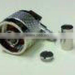 N Male Right Angle Crimp Type RG58
