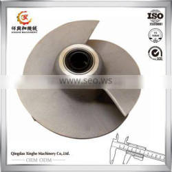 OEM manufactuer metal casting popular style precision casting steel water pump impeller