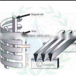 johnson v wedge wire stainless steel water well pipe screen