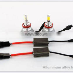 Super bright led ligrhting 25W 2200LM h8 h9 h11 led auto headlight for cars for mototcycles