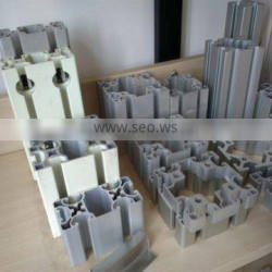Different size standard extruded industrial aluminum profile