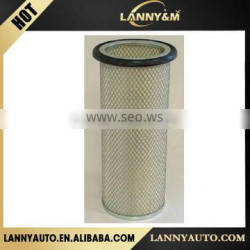 k18 air filter material auto air filter 162.7*133.5/17*406 oem 6001814212 for volvo