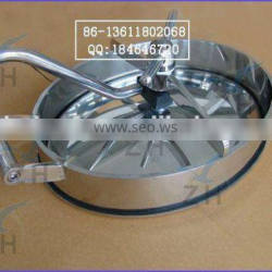Food grade stainless steel septic tank manhole cover
