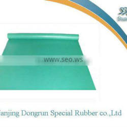 green color rubber sheet