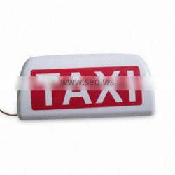 Portable factory selling use 12V taxi light top lamp