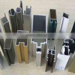 Customized various finished extruded aluminum profile for window and door