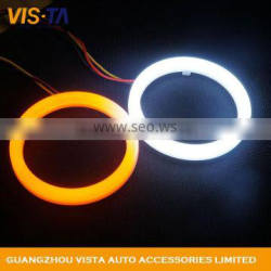 Super bright White Double Color Universal halo ring led ring light car angel eye