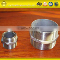 Chinese OEM Top Quality Stainless Steel Lost Wax Casting Hose Nipple BSP/DIN/NPT thread
