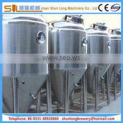 beer fermenter for turnkey brewery beer fermentation tank for beer brewing equipment