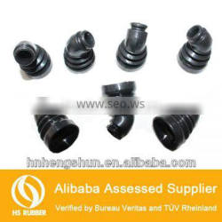 precise size oilproof rubber bellow sleeve tube