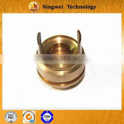 HPb59-1 customized machining motorcycle parts by four axis machine
