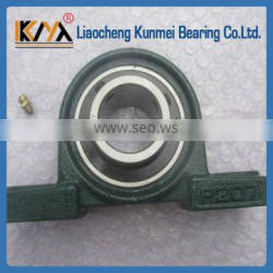 Low noise KM UCP207 pillow block bearing for agricultural machinery