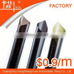 OH hot sale cheap price size:0.5m*3m black window film from China