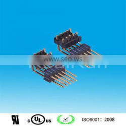 connector alibaba in China 1.27mm Pitch Double Layer Double Row Angle Pin Header