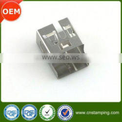 Plated cable connector housing,stable quality pin connector housing