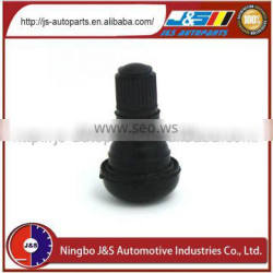 TR412 Rubber Snap In Tubeless Tyre Valve factory supply