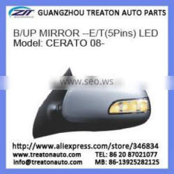 B/UP MIRROR -E/T (5 PINS) LED FOR CERATO 08-