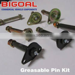 Greasable pin kit for 4X4 suspension