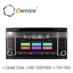 Ownice android 4.4 quad core auto radio for VW Touareg T5 Multivan Transporter support ipod iphone