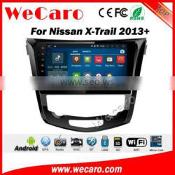 Wecaro WC-N1021 10.2 inch android 4.4/5.1 car stereo audio for nissan x-trail car radio navigation system 2013 + Wifi 3G RDS