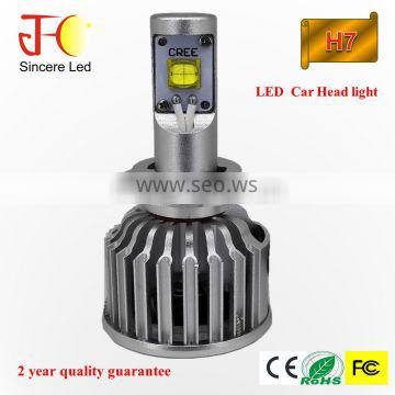 New arrival LED headlight H8 H9 H11 H16 9005 9006 H4 H13 9004 9007 H7 led auto headlight for replace HID bulb halogen bulb