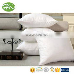 customized size and weight imitated goose down filling travel pillow