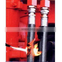 Antiflaming fire resistant rubber hose High temperature factory