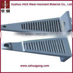 Dia3-6m high&low chrome ball mill liner plate
