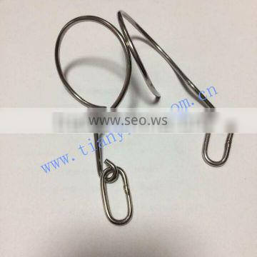 Stainless steel stamping wire hook