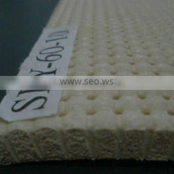 Perforated silicone sheet