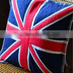 England Painting Cushion From Felt Manufacturer