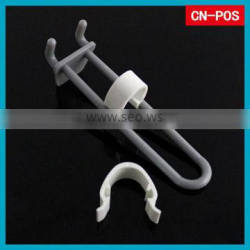 plastic display peg hook stoppers for hanging