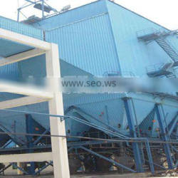 dust collector for aggregated rock plant