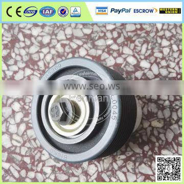 Foton ISF3.8 iron water pump drive idler pulley 5265369