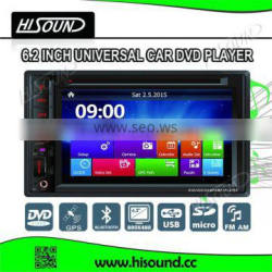 6.2'' is hot selling with GPS/BTtouch screen car stereo for renault megane