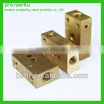 brass parts by central machinery lathe