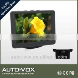 2.4G wireless car monitor with rear view camera kit