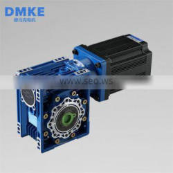 Factory supply custom 24v 600w 1:100 20 rpm 40nm dc worm drive gearbox with electric motor gearbox products