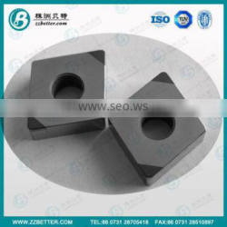 SPGW PCD inserts for cutting steel