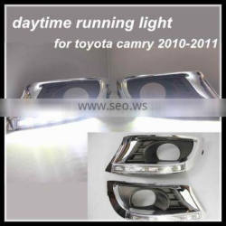 waterproof&error free replacement LED DRL for toyota camry 2010-2011daytime running light fit for Toyota Camry led fog lamp