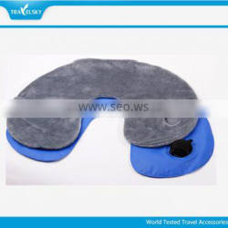 2015 HOT high cost performance Comfort Inflatable Travel Neck Pillow